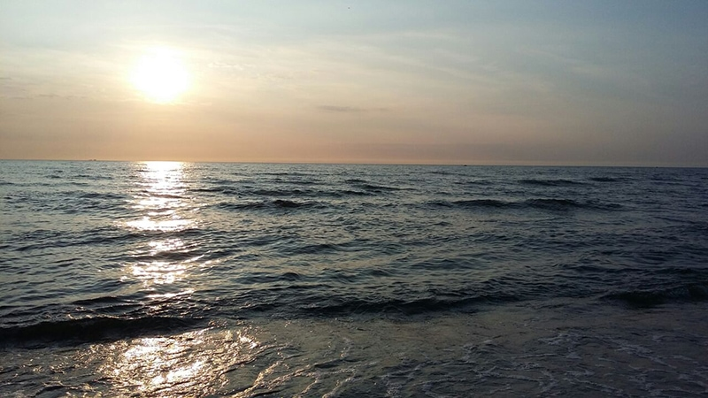 Обязательно стоит съездить на берег Ладожского озера. Это настоящее море, только вода в нем пресная и холодная