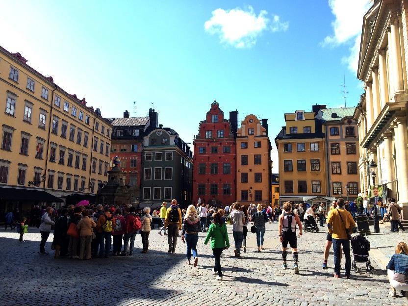 Центральная площадь Стокгольма