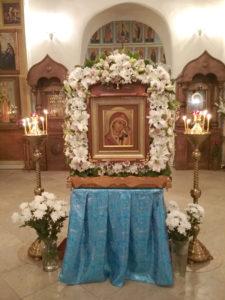 Особо чтимый образ. Находится в Успенском храме (фото с сайта монастыря)