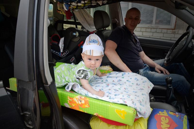 Обустройство машины для поездок с ребенком