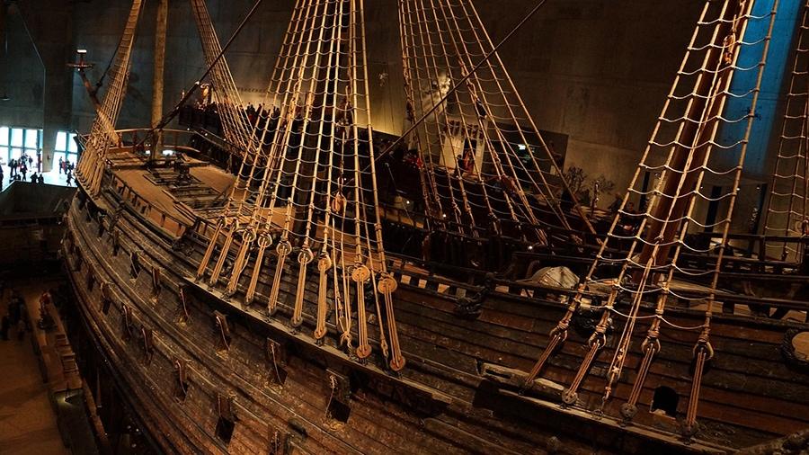 Корабль Васа — самое старое сохранившееся в мире парусное судно