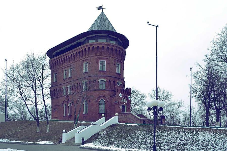 Музей старый Владимир. Водонапорная башня.