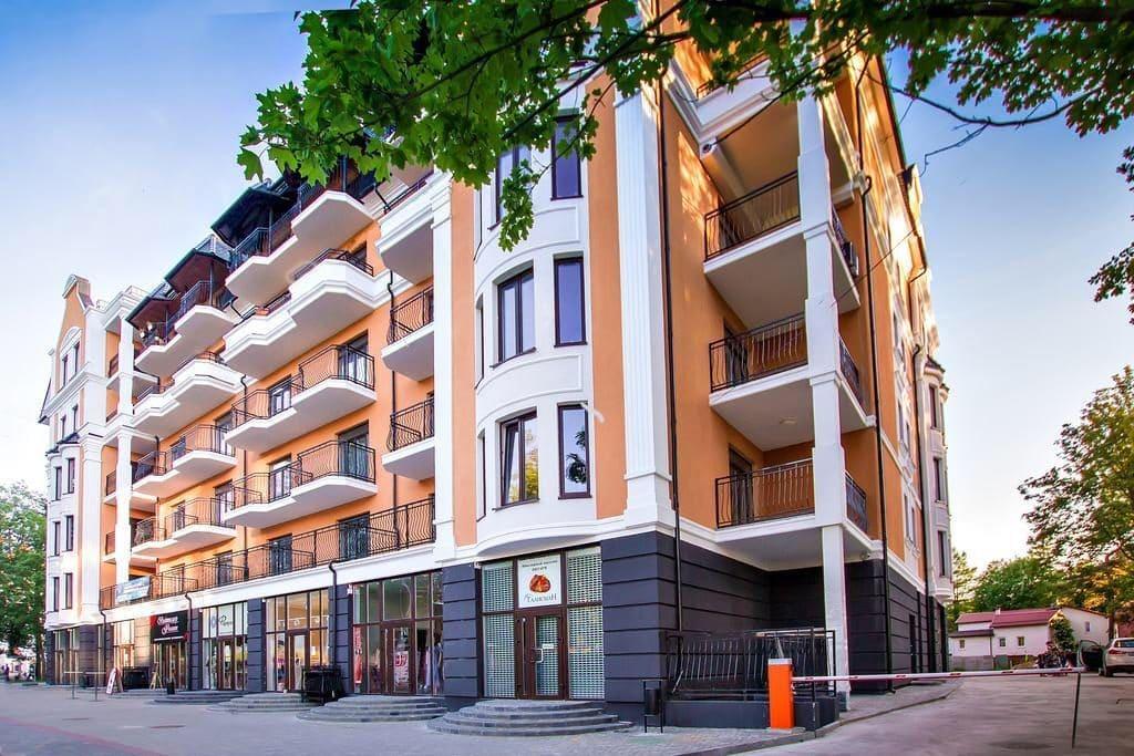 Аппартаменты 6-этаж в Калининградской области