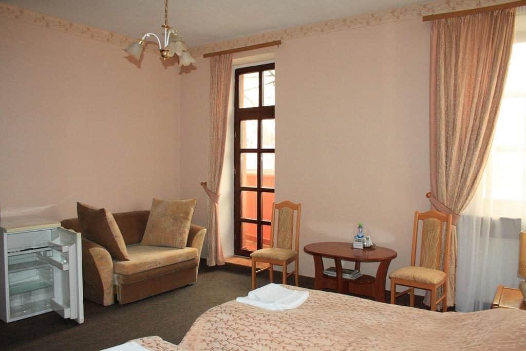 Недорогой отель Альбертина в Калининграде