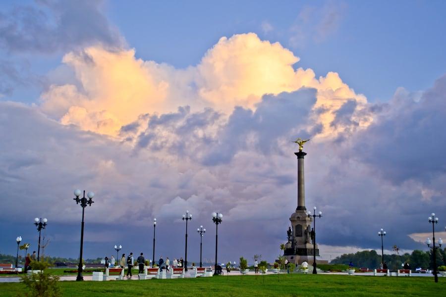 Парк Стрелка в Ярославле