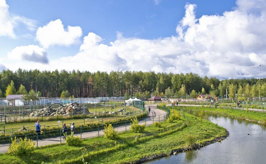 Панорама Ярославского зоопарка