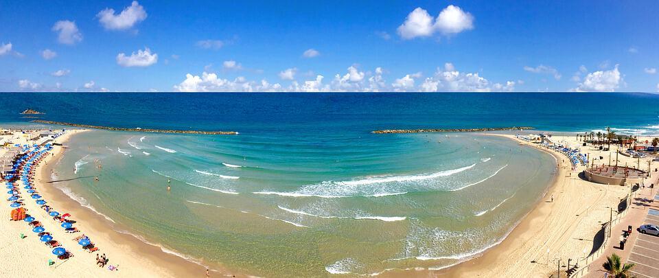 Израиль, Натания, пляж