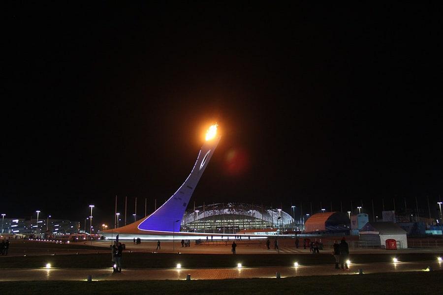 Имеретинский курорт: Олимпийский огонь на Олимпиаде в Сочи-2014