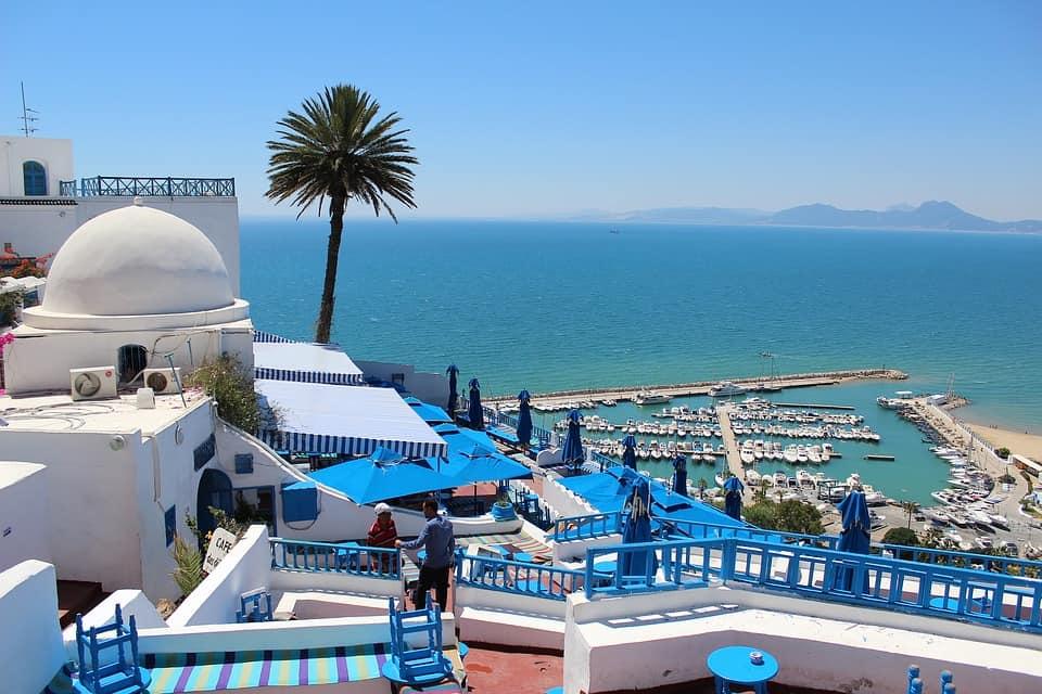Бухта в Тунисе