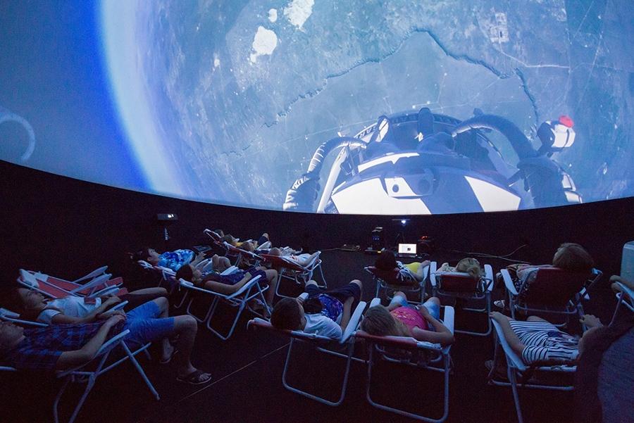 Сферический кинотеатр /фото с официального сайта