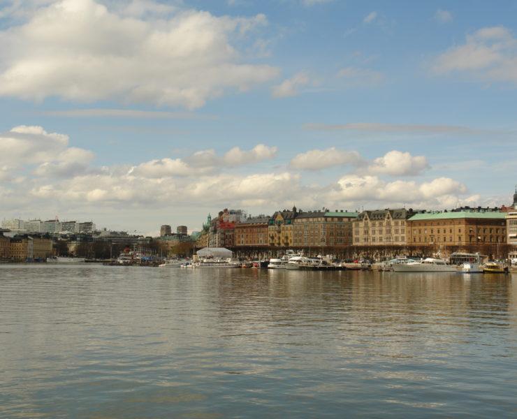 Вид на город с Юргордена