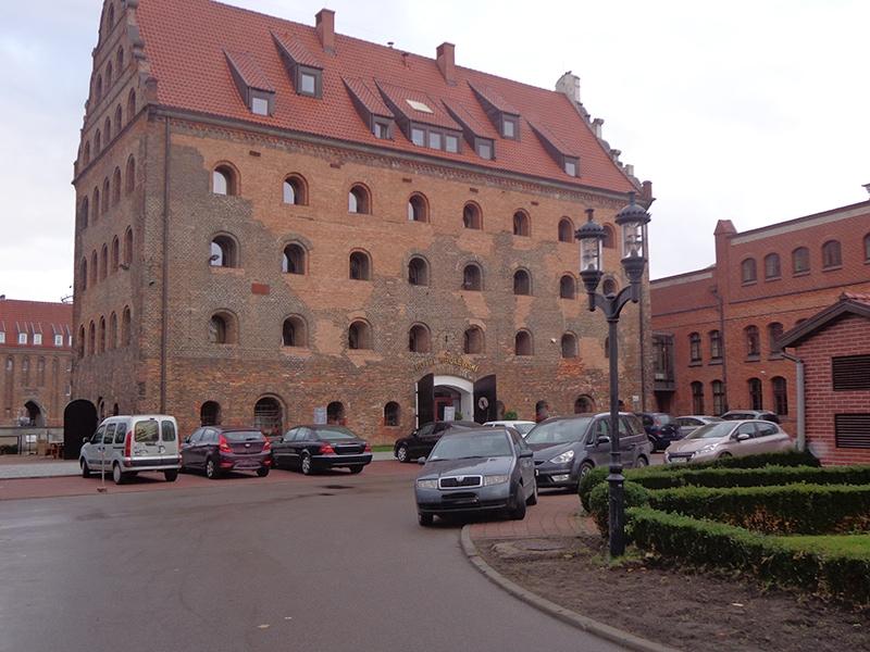 Отель в Гданьске