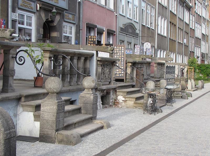 Улица Мариацка в Гданьске