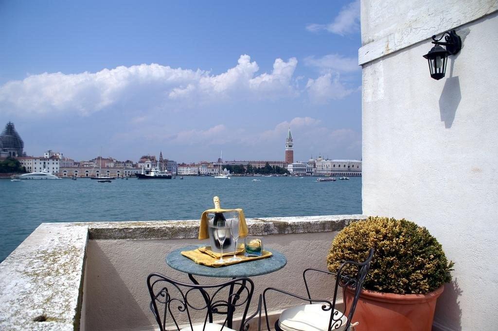 Вид из отеля Bauer Palladio на Венецию
