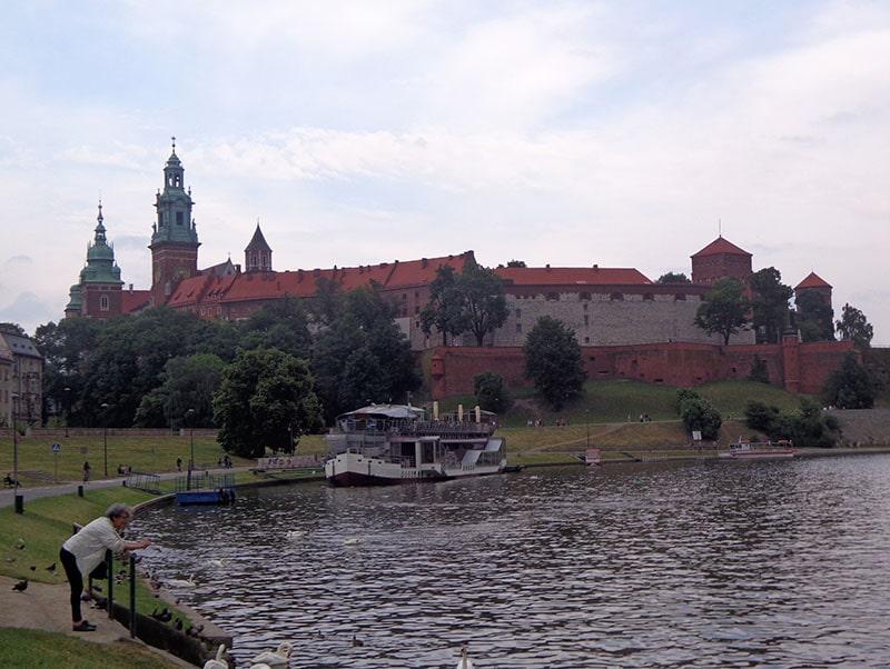 Вид на Вавельский замок