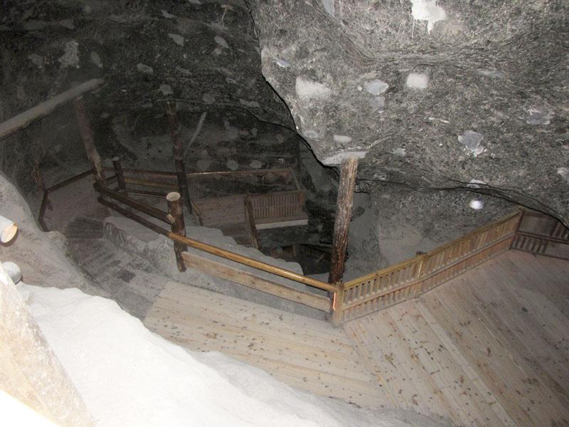 В шахте Величка