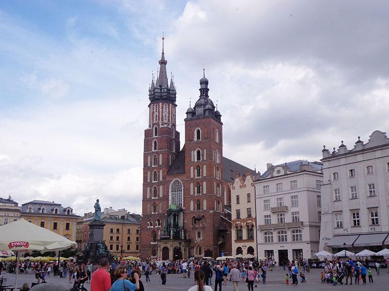 Мариацкий костел — центральное место Кракова