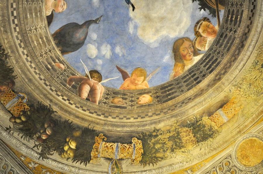 Одна из фресок Палаццо Дукале