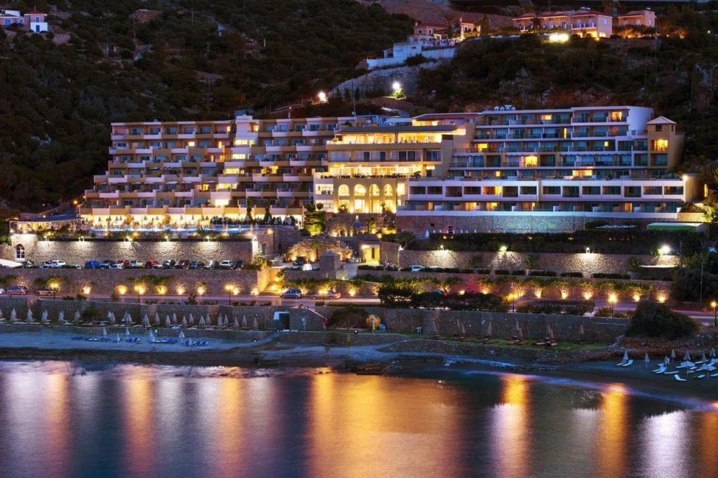 Вид на спа-отель Blue Marine