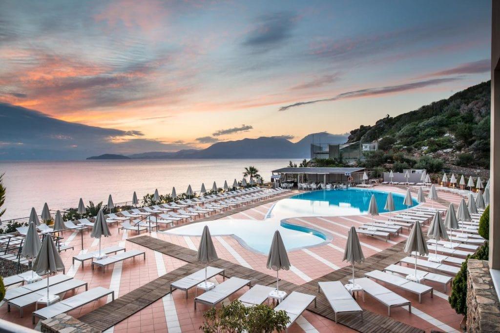 Спа-отель Blue Marine в Греции