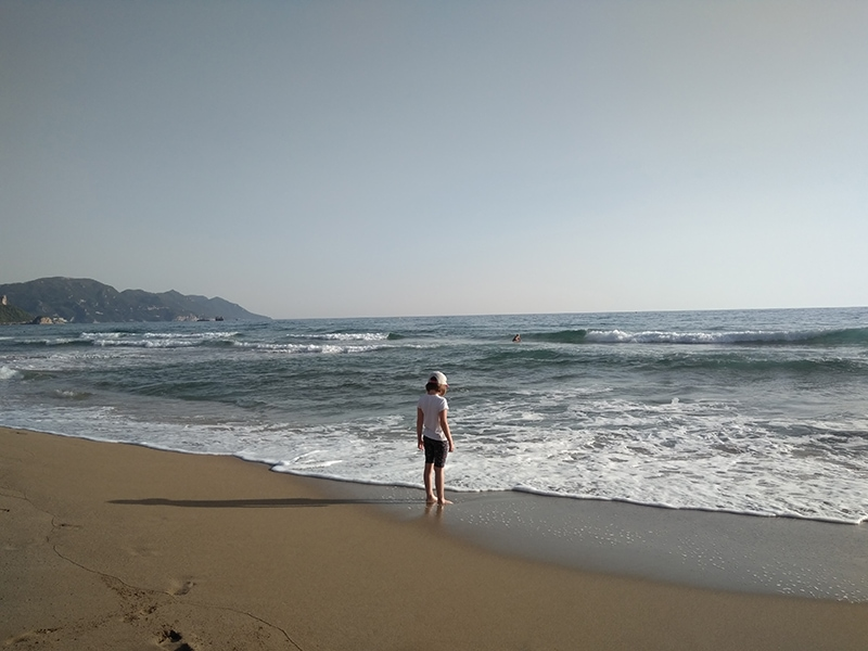 Курорты Корфу: Пляж Агиос-Гордиос — райское местечко