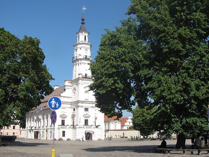 Ратушная площадь в Каунасе