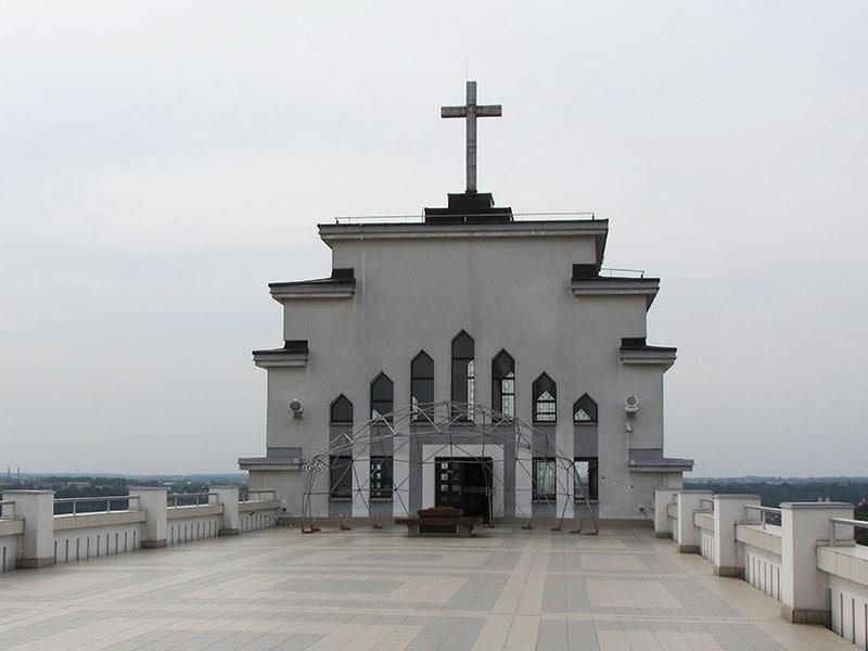 Каунас. Смотровая площадка базилики Воскресения Христова