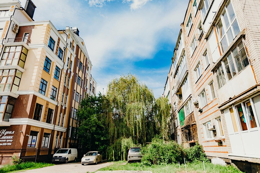 Дом, в котором находятся апартаменты/фото с booking.com