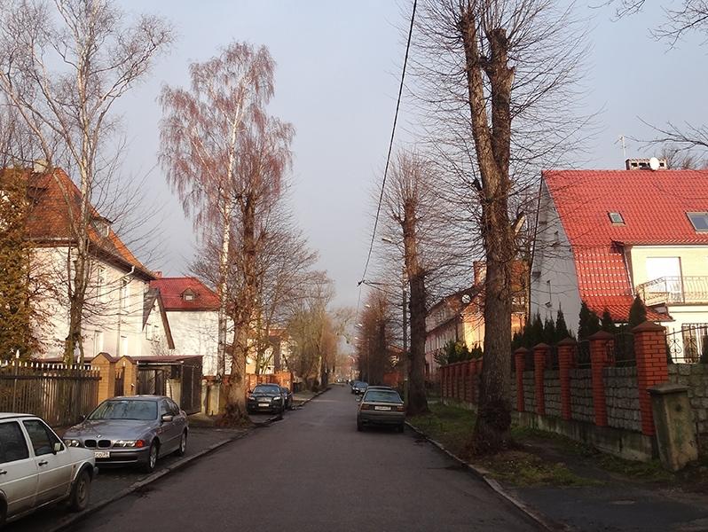 Улица, на которой располагался наш отель