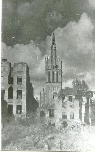 Кирха во время войны