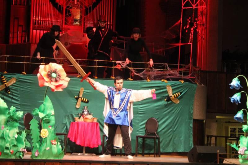 Спектакль в калининградской областной филармонии