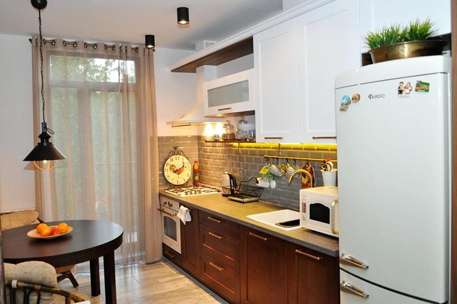 Кухня в апартаментах/фото с booking.com