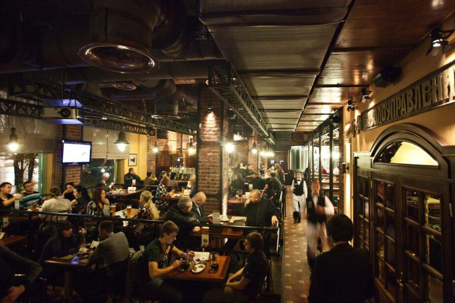 Поесть к Калининграде можно в ресторане Хмель