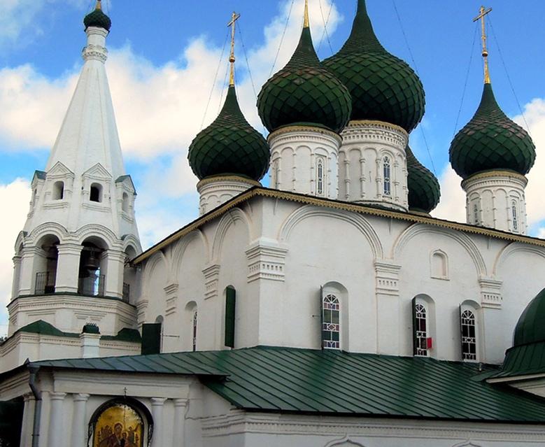 Купола храма Ильи Пророка