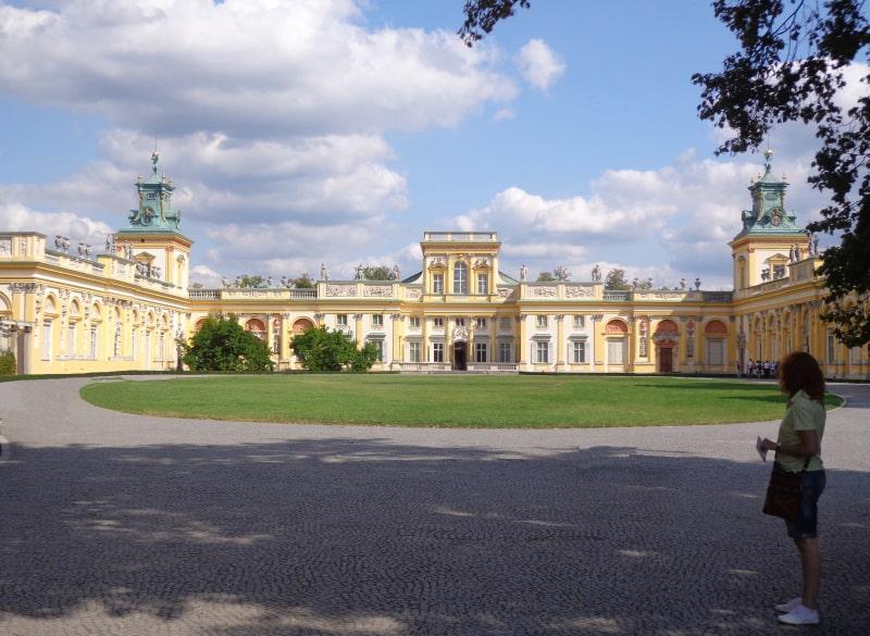 Дворец Вилянув