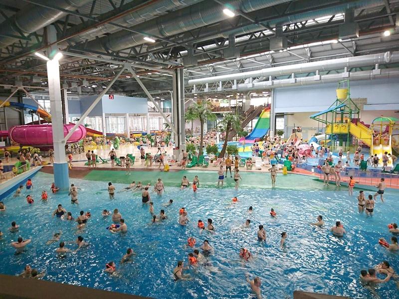 Аквапарк «Тропический рай» в Ярославле (фото с официального сайта)