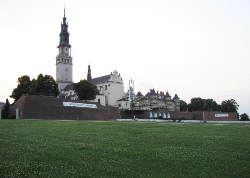 Вид на Ясногорский монастырь
