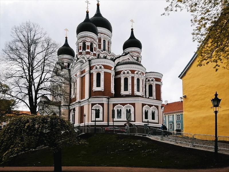 Что посмотреть в Таллине за 1 день - Православный собор Александра Невского