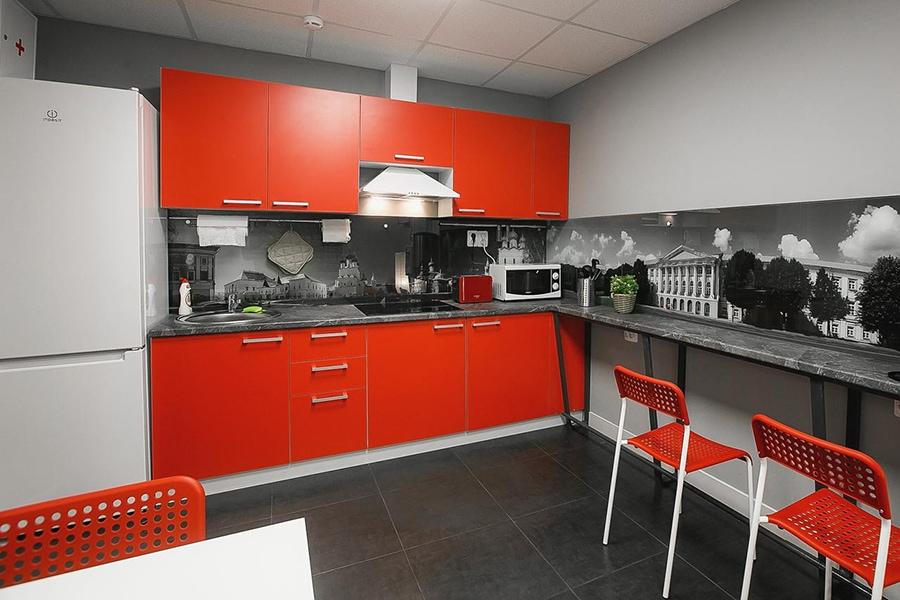 Общая кухня хостела