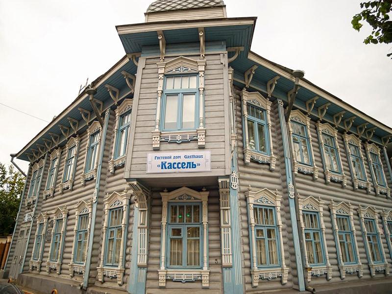 Историческое здание отеля