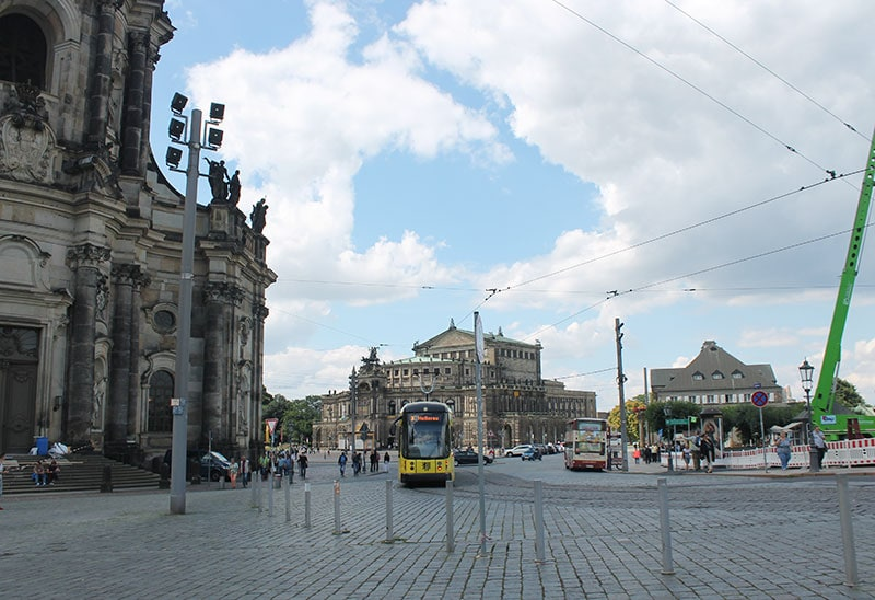 поездка в Европу на автомобиле. В центре Праги / фото автора