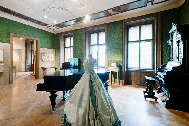 Одна из комнат в доме-музее Штрауса