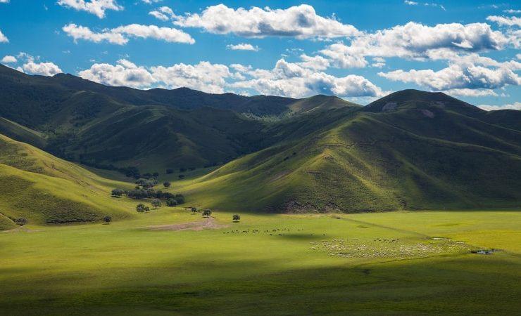 Монголия - пейзаж