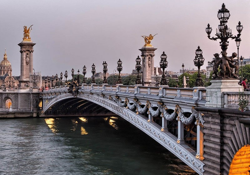 Мост Александра III – главная русская достопримечательность Парижа