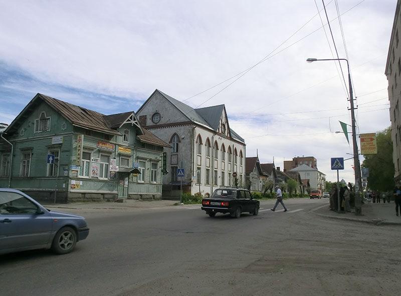 На улицах Сортавалы