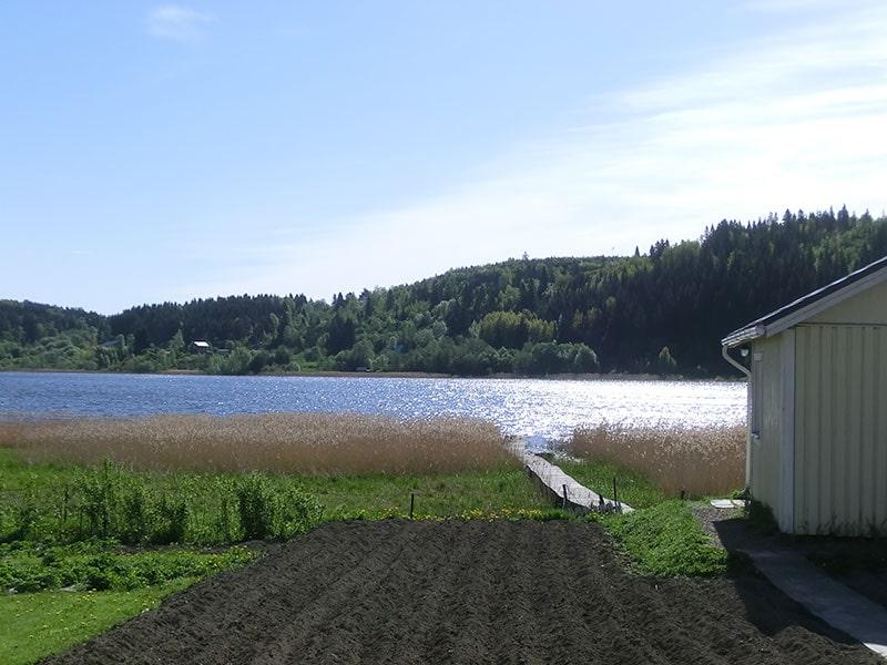 Гостевой дом, Вид на озеро
