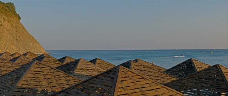 Пляж в Архипо-Осиповке - Самые красивые места Краснодарского края