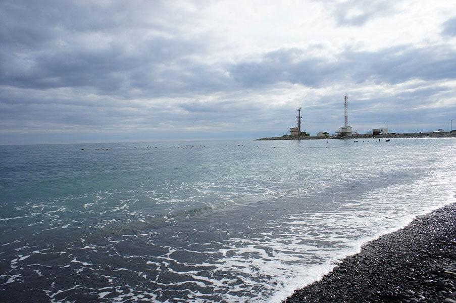 Черное море. Маяк. Большой Утриш
