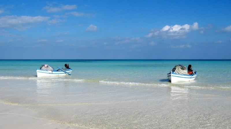 Пляж и море в Тунисе