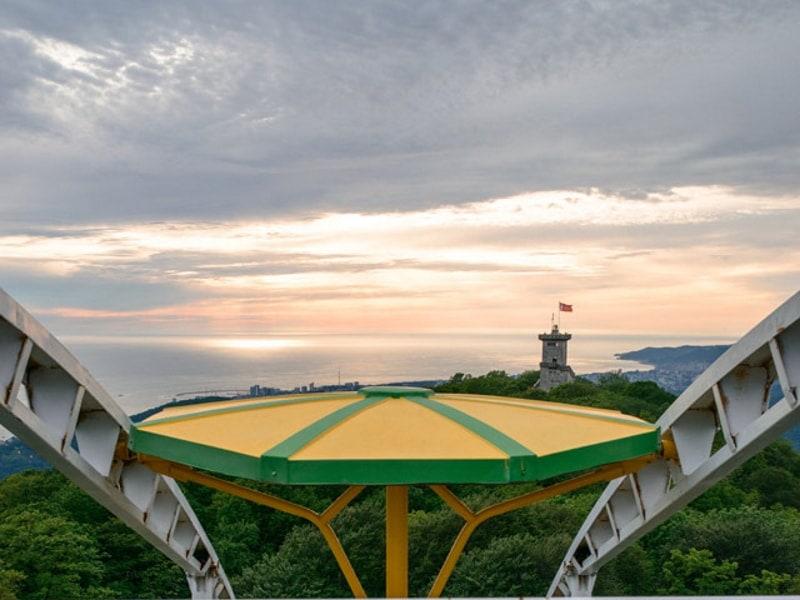 Что стоит посмотреть в Краснодарском крае – вид на море